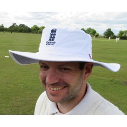 ECB Classic Cricket Hat (White)