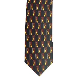Traditional Cricket Tie Navy/Maroon
