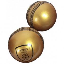 Hampshire Presentation Golden Cricket Ball