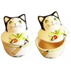 Curious Cat Cricket Trinket Box