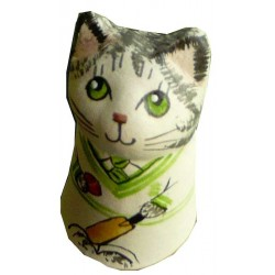 Cricketer Cat Candle Snuffer