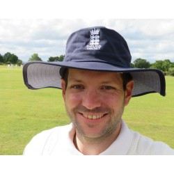 ECB Classic Cricket Hat (Navy)