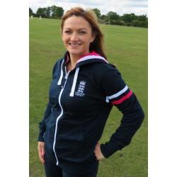 ECB Ladies Classic Zip Hoody