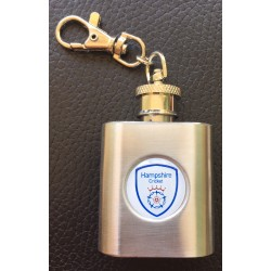 Hampshire 1oz Flask Keyring