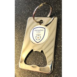Hampshire Bottle Opener Keyring