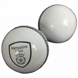 Hampshire Presentation White Cricket Ball