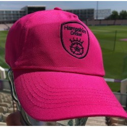 Hampshire Supporters Cap Pink