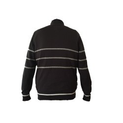 ECB Mens Knitted Zip Neck Jumper