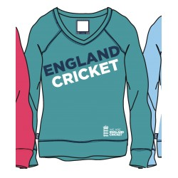 ECB Ladies Lightweight Sweat - Aqua