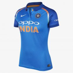 Nike India Womens ODI/T20 Cricket Shirt (2018)