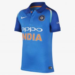 Nike India Youths ODI/T20 Cricket Shirt (2018)
