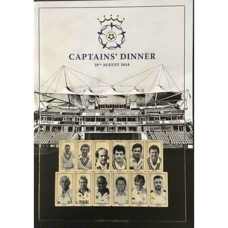 Captains Dinner Event Program