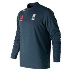 New Balance England Cricket Midweight Training Zip Top (2019)