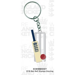 England Bat Ball Stumps Key Ring