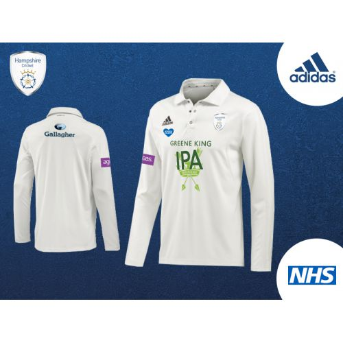 Hampshire Long Sleeve Championship Shirt 2020