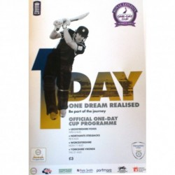 Royal London One Day Cup Official Programme