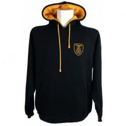 Hampshire Hoodie (Black & Gold)