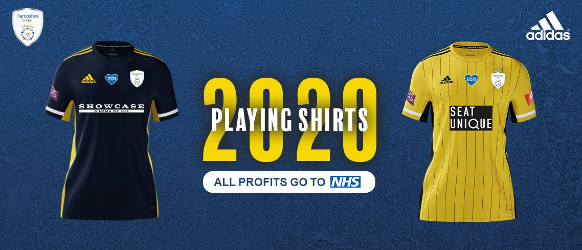 2020 Hampshire Playing Shirts
